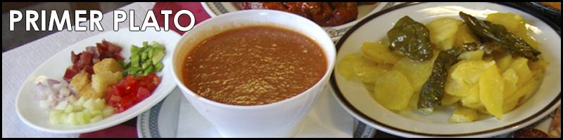 Primer Plato Restaurante Torrente